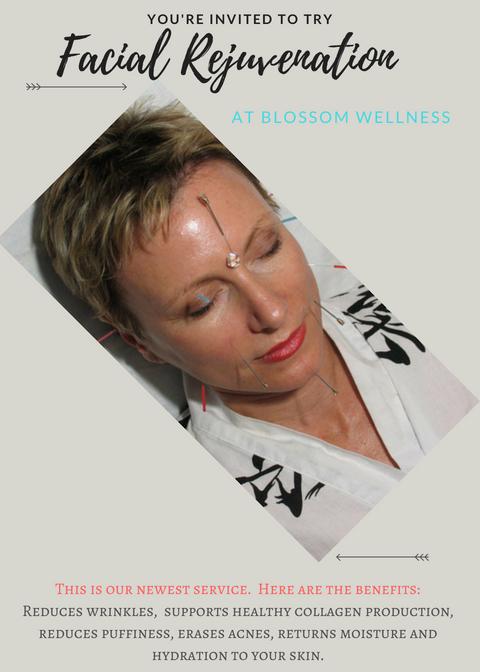 blossom wellness June 2019 facial special promo image